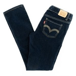 Levi's Strauss 711 Jeans Skinny Adjustable Waist